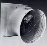 Fibrglass FRP wall exhaust fan exhauster ventilator