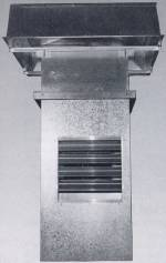 Roof Fan Recirculator Ventilator
