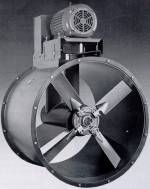 Axial inline blower Twin City tubeaxial fan TCF