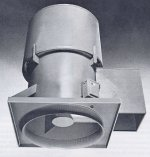 Tubeaxial Roof Exhaust Fan Ventilator