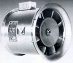 Vaneaxial VA inline axial fan T.C.F. Twin City.